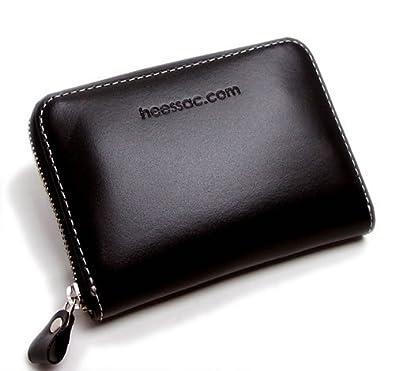 f2e201201d28 heessac.com♪☆牛革コンパクトラウンドファスナー小銭入れ・カード入れ・札入れ