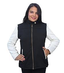 Romano Premium Black Winter Zipper Jacket for Women