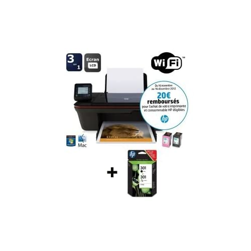 Comparer HP DESKJET 3057A NOIR ARGENT   