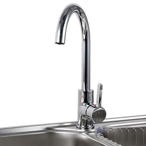 Best Price BEIYI D18 Fashion Chrome Kitchen Sink Mixer Tap Faucet UK ...