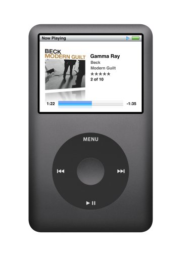 Apple iPod classic 120 GB Black (6th Generation) [Previous Model]