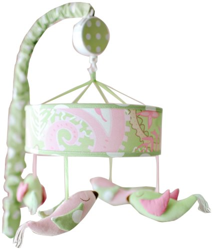 My Baby Sam Pixie Baby Mobile, Pink
