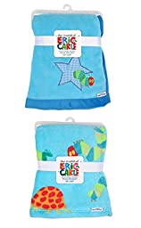 Eric Carle\'s The Very Hungry Caterpillar Stitched Plush Blanket 30\