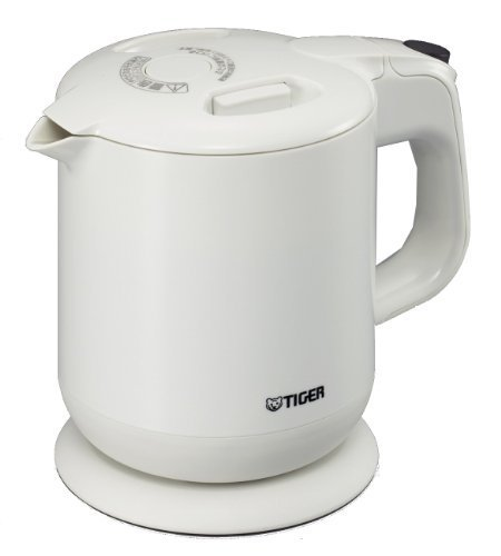 Tiger Electric Kettle White Pcg-A060-W (0.6 L) By Tiger