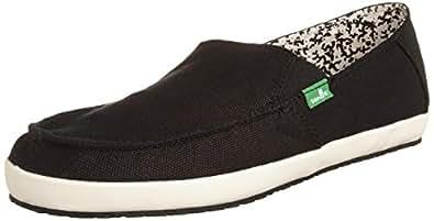 Sanuk Men's Casa Slip-On Loafer,Black,7 M US
