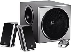 Logitech Z-2300 Z2300 2.1 THX 200W Speaker w/ Subwoofer