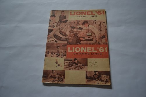 Lionel 1961. New Science Sets. 027 HO Super O Train Lines. Catalog with Medaris Cover