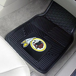 Fanmats Miami Dolphins Two-Piece Heavy Duty Vinyl Car Mats