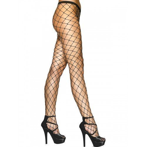 ladies-sexy-black-white-or-red-diamond-wide-fence-net-fishnet-tights-black