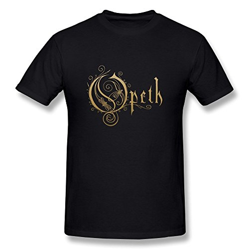 Uomo's Opeth Band Logo T-shirt