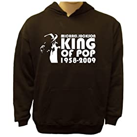Michael Jackson King of Pop Hoodie