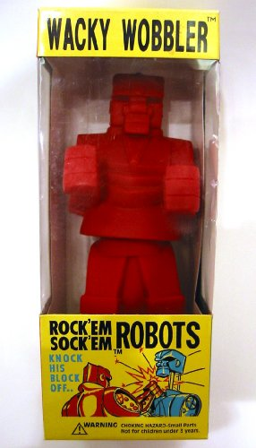 FUNKO Wacky Wobbler ROCK'EM SOCK'EM ROBOT Bobble Head