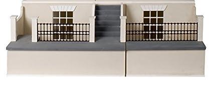 Maison de poupées sous-sol pour GÉORGIEN SHOP PUB Kit 1:12 échelle plat paquet KIT
