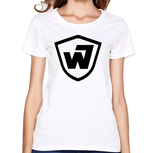 femmes-warner-bros-warners-wb-time-warner-round-neck-t-shirt-x-large