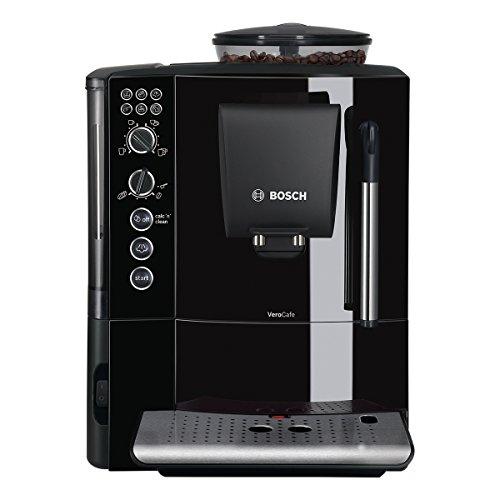 Bosch TES50159DE Kaffee-Vollautomat VeroCafe (15 bar, Milchaufschäumer, Dampfdüse) tiefschwarz thumbnail