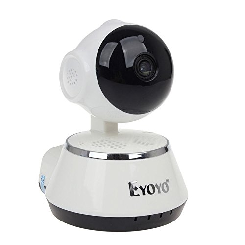 Eyoyo Q6 1.3MP 720P HD Wifi Wireless IP Camera Video Baby Monitor Home CCTV Security Camera Surveillance System Pan Tilt P2P 2 Way Audio Talking Night Vision IR
