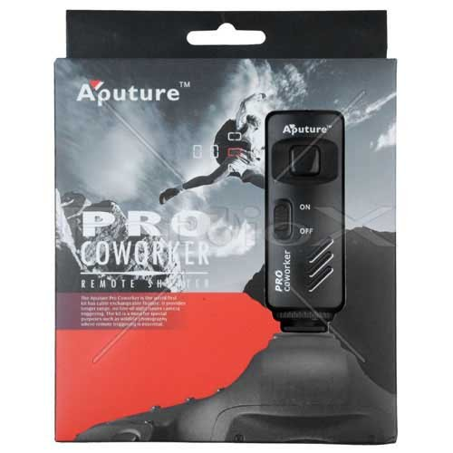 """Aputure"" Pro Coworker Wireless Remote, RF Radio Shutter Release for Canon EOS Digital Rebel t1i, t2i, t3, t3i, xt, xti, xs, xsi 300d, 350d, 400d, 450d, 500d, 550d, 600d, 1000d, 1100d, 60d, Fullly Compatible with Canon RS 60-E3"