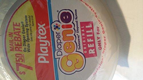 Playtex Original Diaper Genie Twist-away Disposable Refill