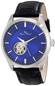 Lucien Piccard Men's LP-12530-03-BK Sevilla Analog Display Chinese Automatic Black Watch