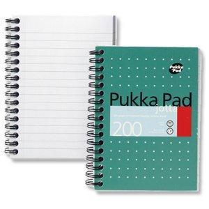 Pukka JM021 Lot de 3 Cahier Metallique