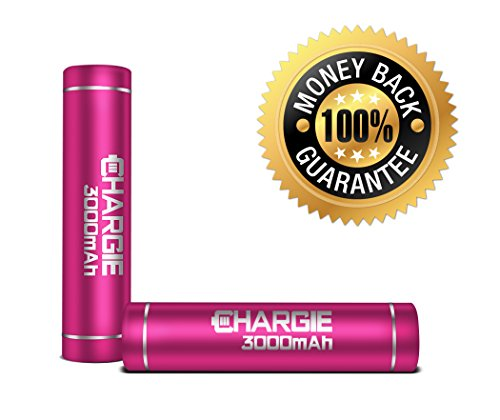 Pow'R-Up Chargie 3000Mah Mobile Cell Phone Charger, Meet Travel Power Bank Needs W/ Premium Samsung Portable Rechargeable Battery Chargers For Apple Iphone 5, 5S, 4S, Ipad, Ipod, Works W/ Att, Veriazon Wireless, Virgin & Sprint Phones - Enjoy Freedom!