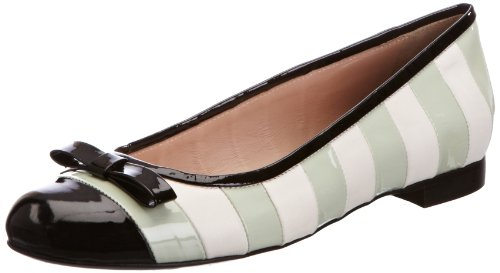 Sonia Rykiel Women's White/Teal Ballet Flats 3 UK