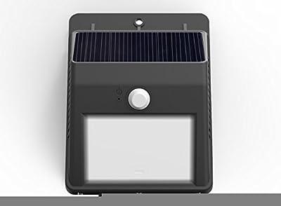 LAMPAT Waterproof Wireless Security Bright Motion Sensor Solar Light