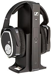 Sennheiser RS 165 Tv Digital Wireless Headphone (Black)