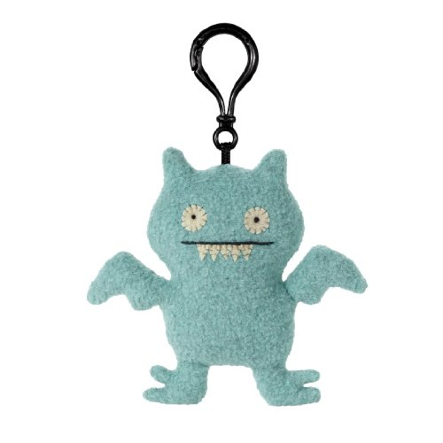 "Gund Uglydoll Clip-On Ice-Bat, 3.9"" Plush"