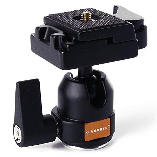 Rotule tête de trépied avec plaque montage/démontage rapide Quick Release noir monopied LF24