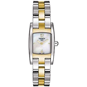 Tissot T0421092211700 Ladies Tissot Trend T3 Two Tone watch