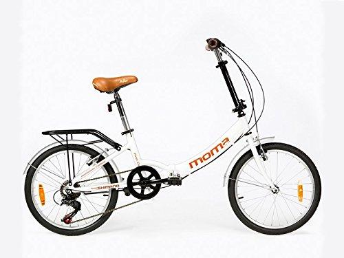 """Bicicletta Pieghevole ruota 20"""" SHIMANO. Alluminio, con borsa da transporto"""