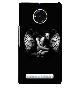 PRINTVISA Beautiful Girl with Wings Case Cover for YU Yunique