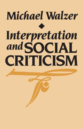 Interpretation and Social Criticism (Tanner Lectures on...