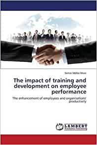 impact of training and development on employee performance and productivity Impact of training and development on employees performance in  of  employee in small firms has resulted in low productivity and high.