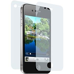 Displayschutzfolie CrystalClear für iPhone 4
