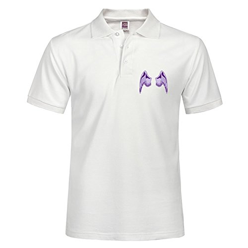Angel Wings - Angelwings Style Men Fashion Casual Polo Shirt With Soft Material Slim Fit Polo