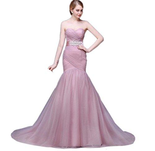 c127be7a7c7 BEAUTBRIDE Women s Long Sweetheart Beaded Evening Wedding Dresses 2015