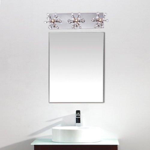 Unitary BRAND Applique Murale Moderne Cristal G4 3x10W Chrome