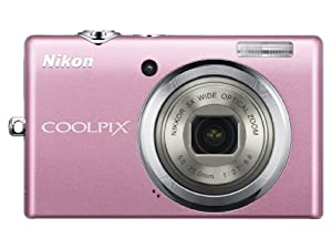 Nikon Coolpix S570 12MP Digital Camera with 5x Wide Angle Optical Vibration Reduction (VR) Zoom and 2.7-Inch LCD (Pink)
