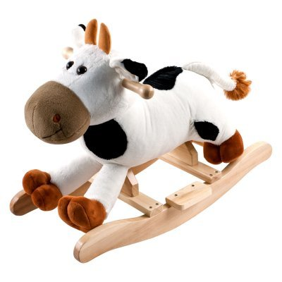 Happy Trails Plush Rocking Connie Cow With Sounds front-422469