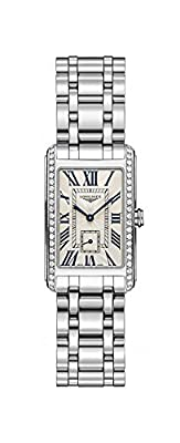 Longines Dolce Vita Stainless Steel & Diamond Womens Watch Silver Dial L5.512.0.71.6