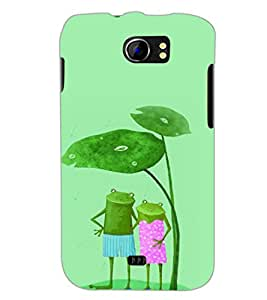 PrintDhaba Funny Image D-4426 Back Case Cover for MICROMAX A110Q CANVAS 2 PLUS (Multi-Coloured)