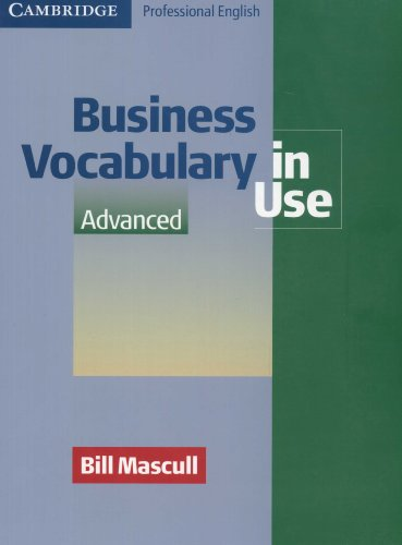 Business Vocabulary in Use Elementary (Professional English in Use)