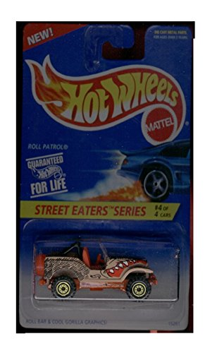 Hot Wheels Street Eaters Series 4/4 Roll Patrol - 1