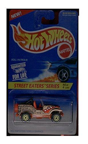 Hot Wheels Street Eaters Series 4/4 Roll Patrol - 1