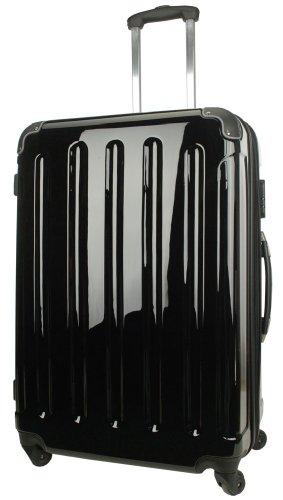 koffer trolley billig reisekoffer koffer trolley boardcase bordcase 50cm hartschale schwarz. Black Bedroom Furniture Sets. Home Design Ideas