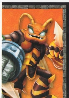 Skylanders Giants No. B3 PUZZLE - Puzzle Card Individuelle Trading Card