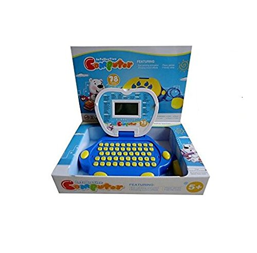 Lightahead-Learning-Machine-Toy-Portable-Multi-function-Intellective-Computer-Featuring-78-Activities-and-Games-Intelligent-learning-machine-Children-Touch-and-Learn-Educational-Toy-BLUE