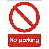 No Parking 600x200 Self Adhesive